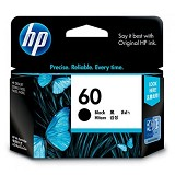 HP Black Ink Cartridge 60 [CC640WA] - Tinta Printer HP